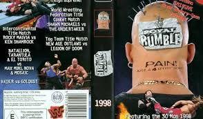 WWE Royal Rumble 1998 en VO – New