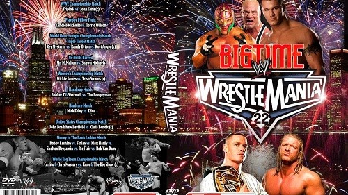 WWE Wrestlemania 22 + Main Event d'avant WM22 en VF