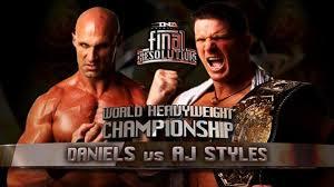 TNA: Final Resolution 2009 en VF – NEW DVD
