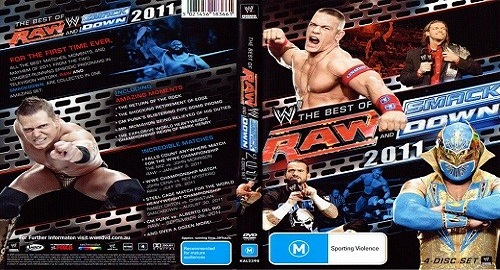WWE Raw and Smackdown Best of 2011 – 4 DVD en VF