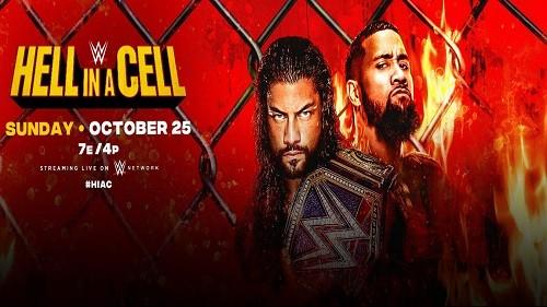 WWE Hell In A Cell du dimanche 25 octobre 2020 en VO